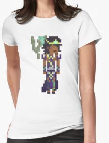 Karma, The Pixel Support Womens Fitted T-Shirt