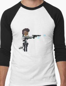 Lucian, The Pixel Purifier Men's Baseball ¾ T-Shirt