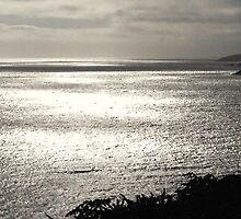 Dusk over the Blasket Islands, Dingle, Ireland by Maire Morrissey-Cummins