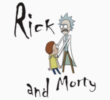 Rick and Morty by wordofshay