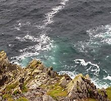 Cliffs and Rock face at Dingle Peninsula, Ireland by Maire Morrissey-Cummins