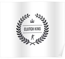 Counter Strike - Clutch King. Poster