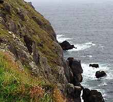 Rock and cliff, Dingle, Co. Kerry, Ireland by Maire Morrissey-Cummins