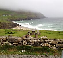 Coumeenole Beach, Dingle Peninsula, Ireland by Maire Morrissey-Cummins