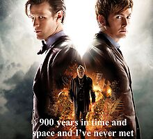 Doctor Who- Day of the Doctor by kiddchino