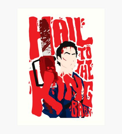 Army Of Darkness/Bruce Campbell Art Print
