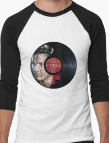 Elvis Presley Portrait Men's Baseball ¾ T-Shirt