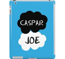 CASPAR & JOE (Caspar Lee & ThatcherJoe) - TFIOS Design iPad Case/Skin