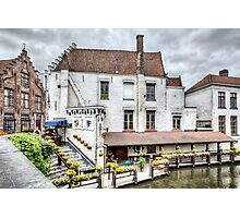 Bruges White House (Belgium) Photographic Print