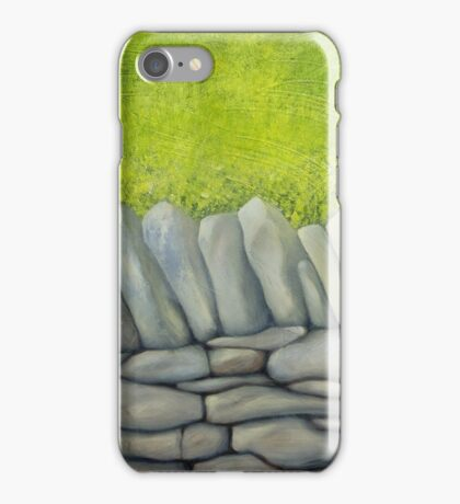 Drystone Wall 1 iPhone Case/Skin