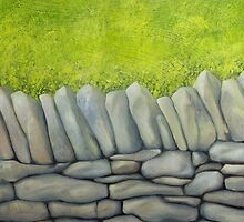 Drystone Wall 1 by Alan Stevens