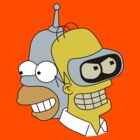 Homer / Bender Face Swap by ChrisButler