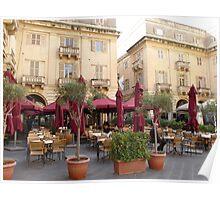 Caravaggio Restaurant - Valetta Poster