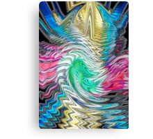 Messin' around (Abstract) Canvas Print