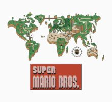 Mario Bros world by kyubara