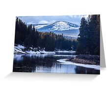 North Country Wilderness Greeting Card