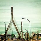 Zakim Bridge Boston Massachusetts by Elizabeth Thomas