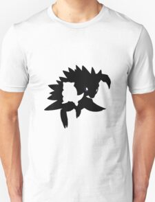 Sandshrew evolution chart (transparent) T-Shirt