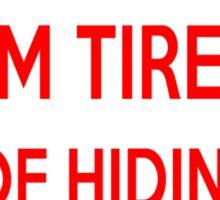 Funny No Trespassing Sticker