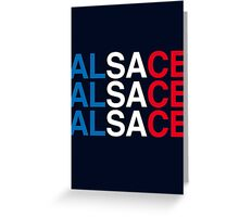 ALSACE Greeting Card
