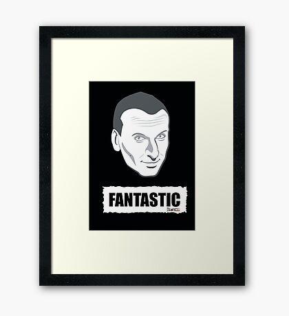 DOCTOR WHO FANTASTIC Framed Print
