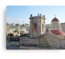 Mellieha Parish Church - Malta Metal Print