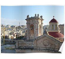 Mellieha Parish Church - Malta Poster