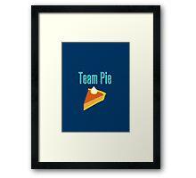 Team Pie Framed Print