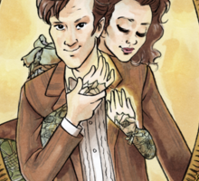 The Doctor's Wife Sticker