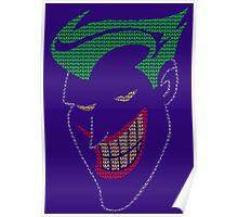 Joker - HAHAHA Poster (Purple) Poster