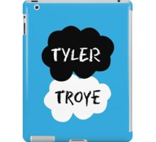 TYLER & TROYE (Tyler Oakley & Troye) - TFIOS Design iPad Case/Skin