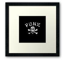 PUNK Framed Print