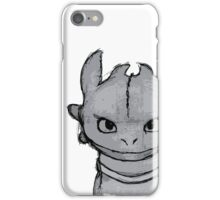 Toothless (larger) iPhone Case/Skin