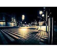 Cork City at Night. Photographic Print