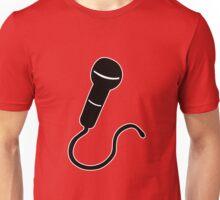 microphone mic karaoke singer micro Unisex T-Shirt