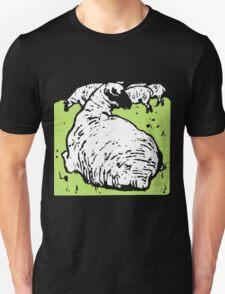 Victorian Woodcut Sheep T-Shirt