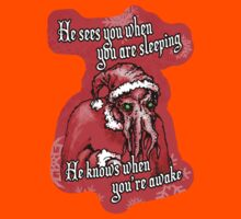 Cthulhu Claus Is Coming to Town Kids Clothes