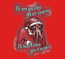Cthulhu Claus Is Coming to Town One Piece - Long Sleeve