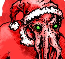 Cthulhu Claus Is Coming to Town Sticker