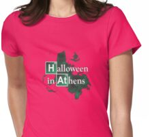 Halloween in Athens Womens Fitted T-Shirt