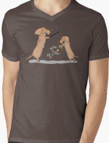 Teach Mens V-Neck T-Shirt