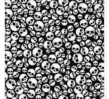 seamless with skulls Photographic Print