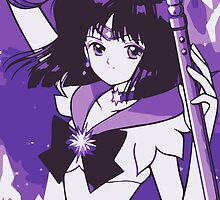 Sailor Saturn - Hotaru Tomoe [Samsung Galaxy Edition] by sandyw5