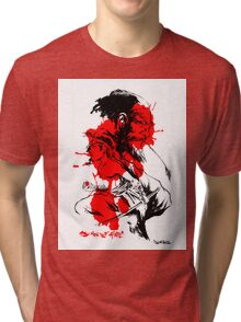 SONS OF FATE Tee [faded ink ] Tri-blend T-Shirt