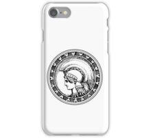 Athena/Minerva - black iPhone Case/Skin