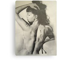Classic Bettie Page  Canvas Print