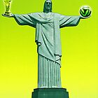 World Cup Jesus Brazil MMXIV by Graham Lawrence