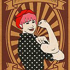 Hayley the Riveter by smallinfinities