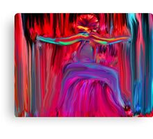 The Dancing Man Canvas Print