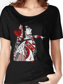 Queen of Hearts Alice in Wonderland Women's Relaxed Fit T-Shirt
